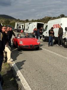 All Roads lead to Rome - mit einem Alfa Romeo Spider und Claudia Cardinale macht das noch mehr Spaß