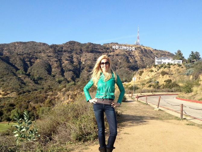 Alexandra Klim-Wirén in Hollywood