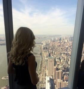 Alexandra Klim in New York