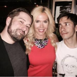 Alexanda Klim auf dem Tribeca Film Festival - Selfie mit Ed Gass-Donnelly und Justin Long