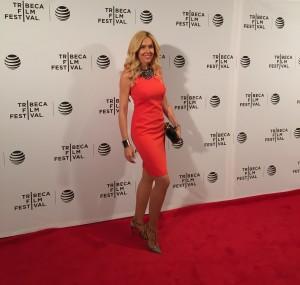 Alexandra Klim auf dem Tribeca Film Festival - auf dem roten Teppich