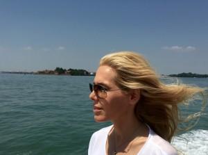 Die Fahrt nach Venedig an Bord eines Boots