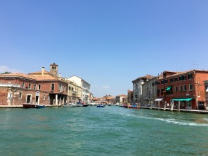 Einfahrt nach Venedig - Alexandra Klim