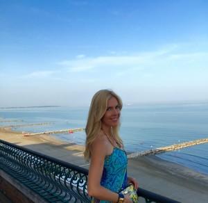 Ausblick auf den Lido di Venezia