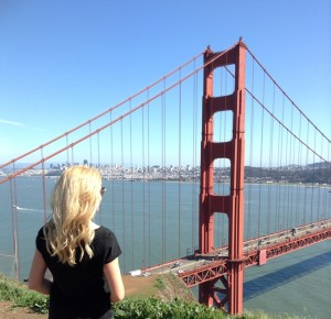 Golden Gate Bridge mit Alexandra Klim