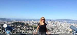 San Fancisco und die Bay Area (hinten), Alexandra Klim (vorne)
