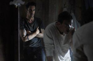 """Antonio Banderas und Jonathan Rhys-Meyers am Set von """"Black Butterfly"""""""