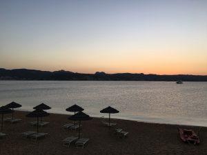 Abenddämmerung Golfo Aranci Ristorante Terza Spiaggi
