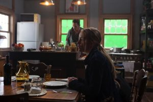 "Piper Perabo und Jonathan Rhys-Meyers bei den Dreharbeiten zu ""Black Butterfly"""