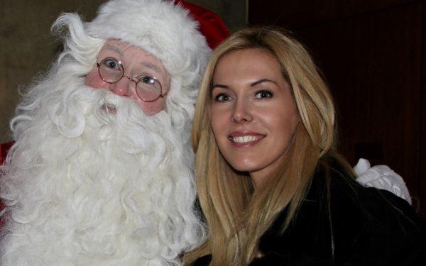 Alexandra Klim und der Weihnachtsmann