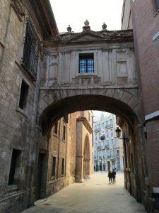 Malerisch: die Altstadt von Valencia
