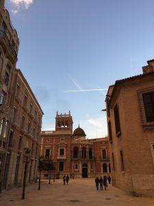Der Plaza Almoina in Valencia