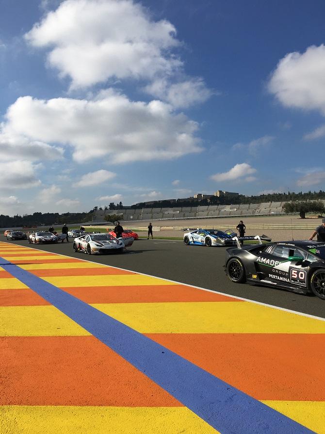 Startaufstellung Super Trofeo Finale 2016, Valencia