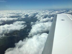 Mit der Cirrus Vision SF50 im Himmel über Orlando