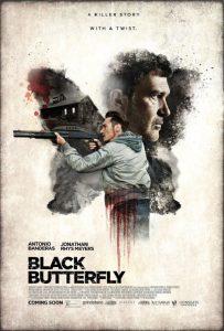 Filmplakat von Black Butterfly mit Antonio Banderas und Jonathan Rhys-Meyers