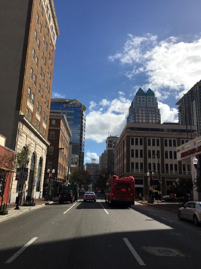Unterwegs in Orlando downtown