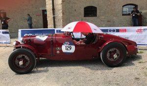 Aston Martin 2 Litre Speed Model von 1936 auf der 1000 Miglia 2017