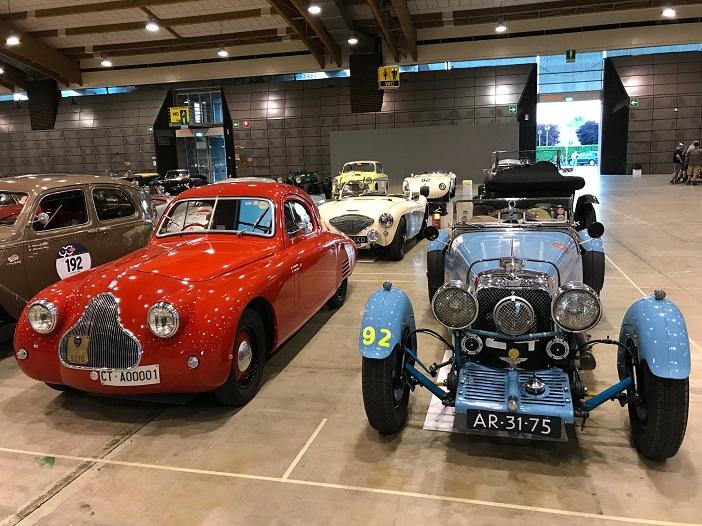 Bugatti auf der Mille Miglia