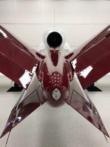 Ruddervator der Cirrus SF50 Vision: Design meets Luftfahrttechnik