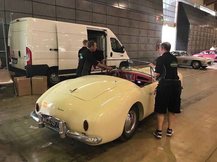 Nash healey technische Abnahme 1000 Miglia 2017