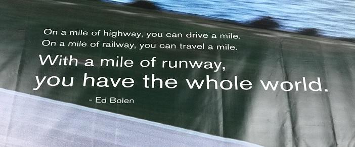 Berühmtes Fliegerzitat von Ed Bolen, dem Präsidenten und CEO der National Business Aviation Association (NBAA)