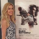 Alexandra Klim präsentiert Black Butterfly bei der Movie Night in Lugano