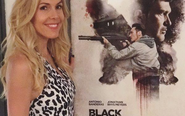 Alexandra Klim präsentiert Black Butterfly bei der Movie Night in Lugano