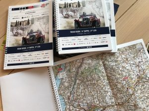 1000 Miglia 2017, Roadmaps and Naviigation books