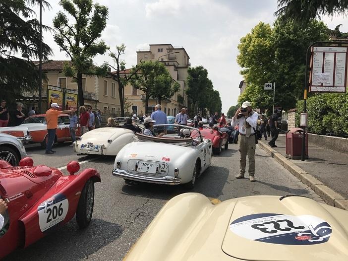 Kurz vorm Start der 1000 Miglia 2017