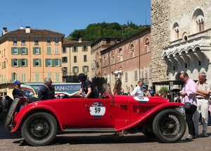 Lancia Lambda Tipo 221 rot