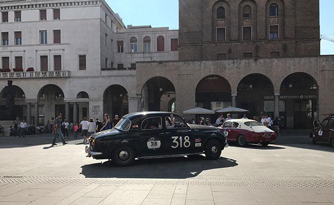 Rover 75 auf der 1000 Miglia