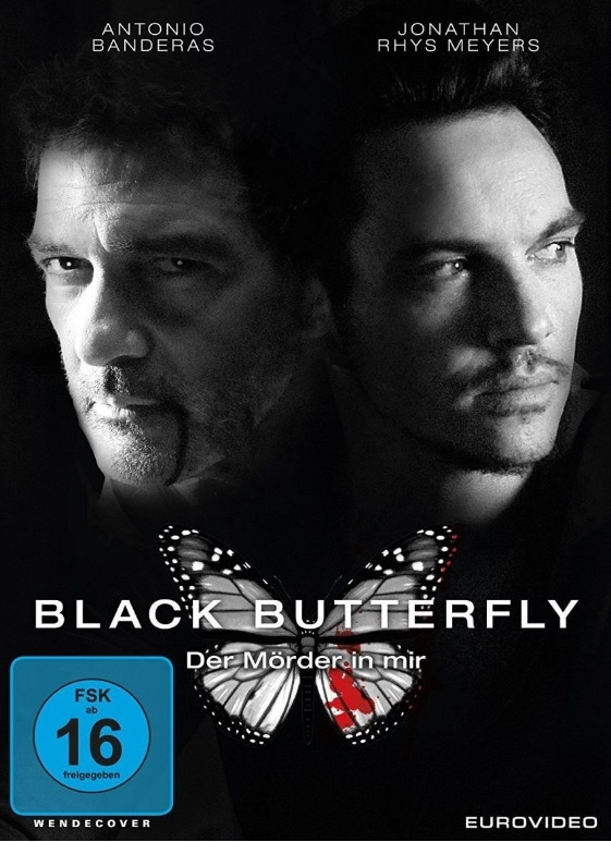 DVD Cover Black Butterfly Antonio Banderas, Jonathan Rhys Meyers