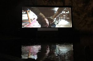 Italienische Filmpremiere in Ischia, Black Butterfly