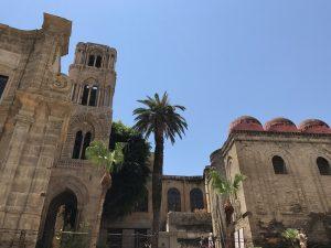 Die Kirche San Cataldo in Palermo