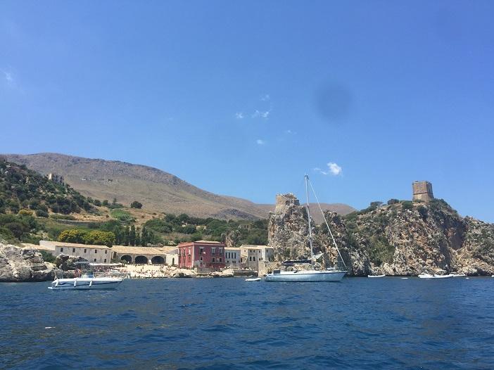 Tonnar di Scopello auf Sizilien