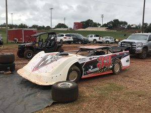 Dirt Track Late Model vom Set von Trading Paint