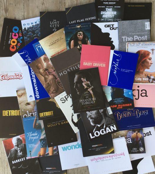 Flyer Oscar-Verleihung 2018, Top 3 Alexandra Klim