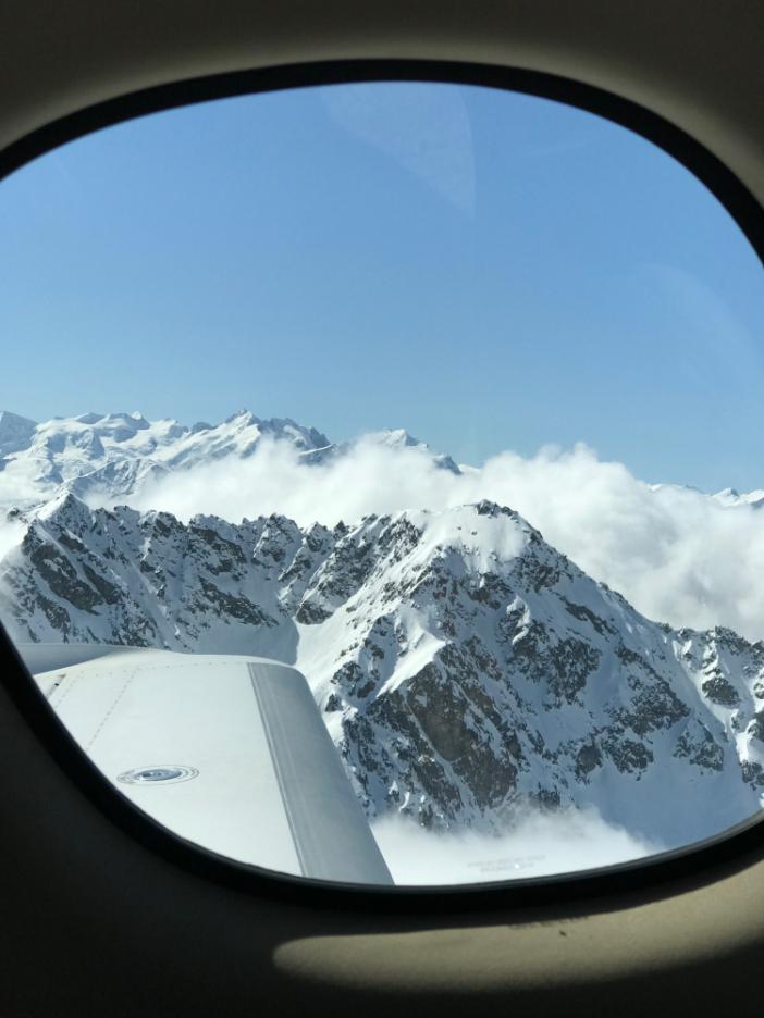 Blick aus der Cirrus Vision SF50