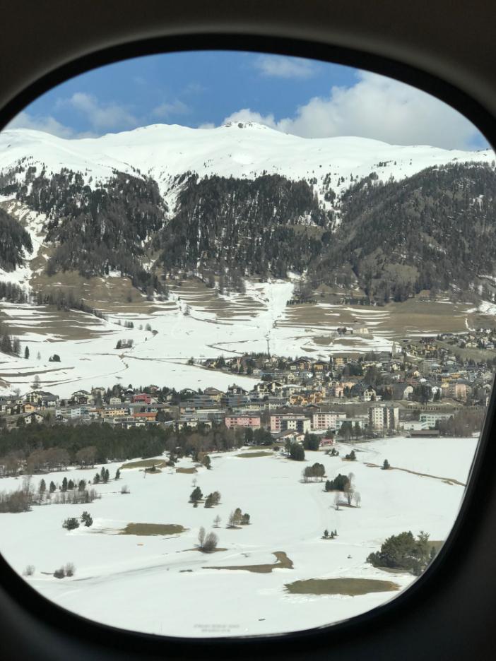 St. Moritz Luftfotografie
