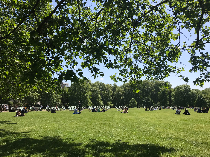 Parklife in sunny London