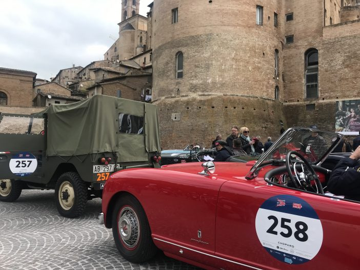 "Alfa Romeo 1900 AR 51 ""Matta"" und Nash Healey Sports 4.1 Pininfarina"