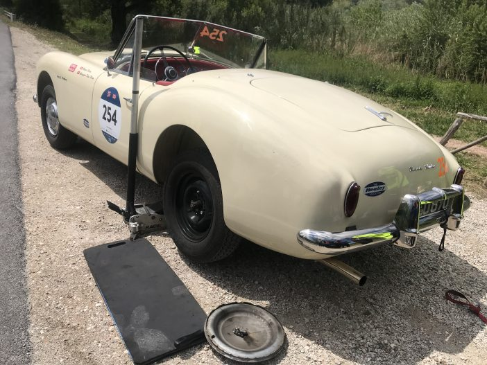 Nash Healey Sports 3.8 Mille Miglia 2019