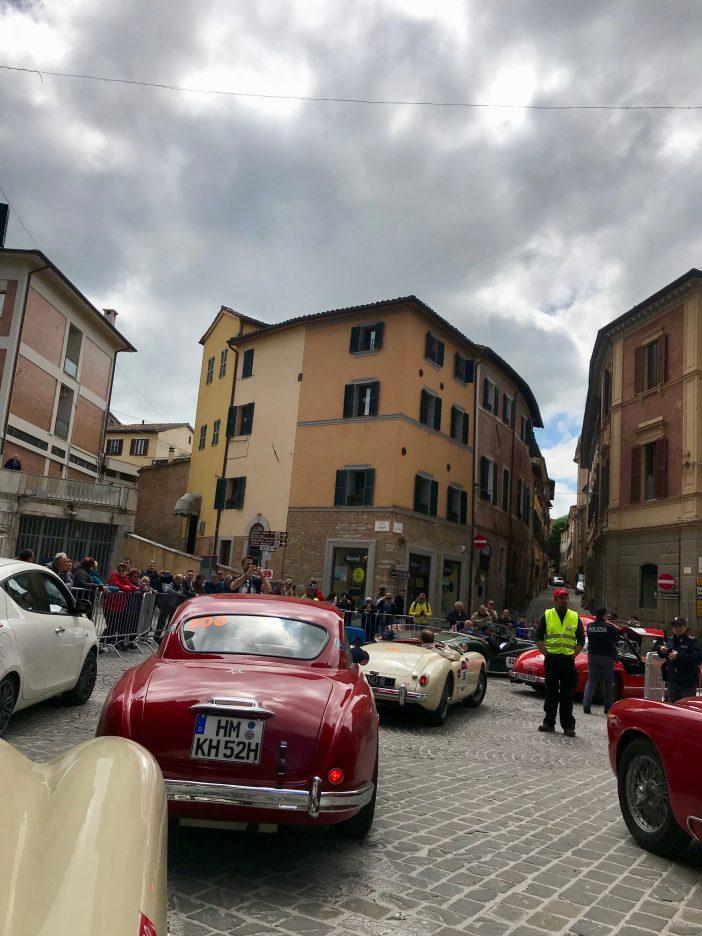 Mille Miglia 2019 mit Alexandra Klim
