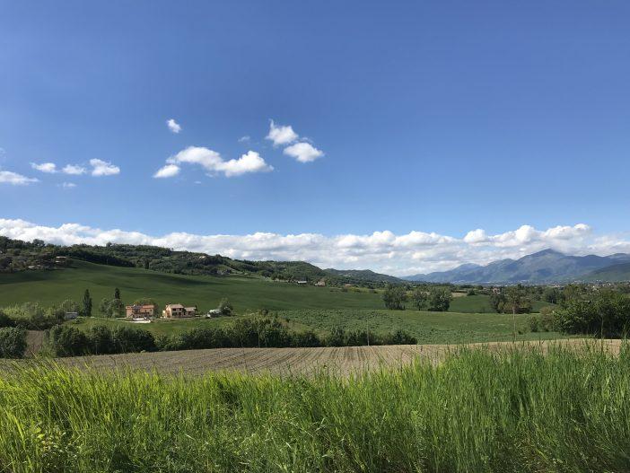 Mille Miglia 2019 Panoramalandschaft