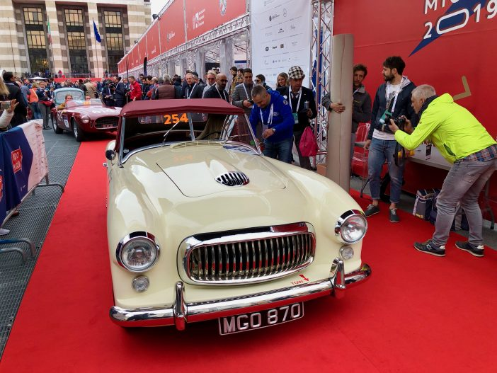 Nash Healey Sports 3.8 auf der Mille Miglia 2019